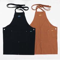 """coffee"" logo apron (2 color)"