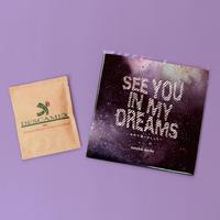 「ゆめで逢いましょう ~see you in my dreams~」7inchレコード with デカフェ DRIPBAG