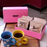 manu coffee ギフトボックス [ピンク] ④