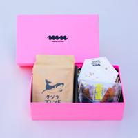 【バラエティギフト】ハッピーセット:ドリップバッグ+金平糖+チョコ