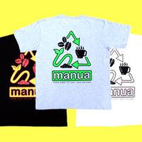 "【manua  × Hikaru Matsubara】""From seed to cup, beyond"" T-shirts set (3color)"