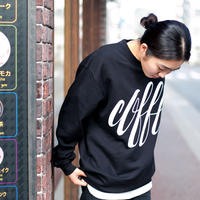 "【再入荷】""coffee"" CREWNECK SWEAT(artwork by Ryu Mieno)"