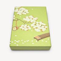 オリジナル文箱 胡琴と桜