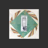 金箔散らし折り紙 40枚入 10×10