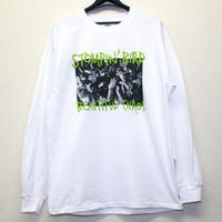 BEAUTIFUL CHAOS L/S Tシャツ (白)