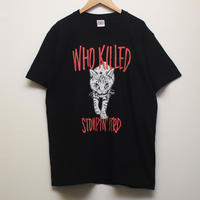 WHO KILLED STOMPIN'BIRD Tシャツ(黒)
