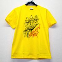 3 OWLS Tシャツ (イエロー)