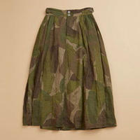 Nigel Cabourn WOMAN BRITISH ARMY SKIRT - CAMO グリーン [NIG048]