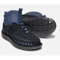 KEEN(キーン) メンズ ユニーク HT ミッド BLACK/BLUE WING TEAL [KEE035]