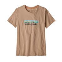 patagonia(パタゴニア) ウィメンズ・パステル・P-6 ロゴ・オーガニック・クルー・Tシャツ PATN [39576]