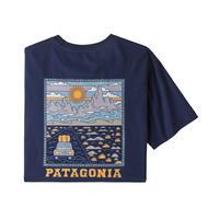 patagonia(パタゴニア) メンズ・サミット・ロード・オーガニック・Tシャツ CNY  [38537]