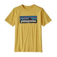 patagonia(パタゴニア) ボーイズ・P-6ロゴ・オーガニック・Tシャツ SUYE [62153]