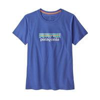 patagonia(パタゴニア) ウィメンズ・パステル・P-6 ロゴ・オーガニック・クルー・Tシャツ FLBLL [39576]