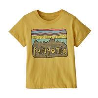 patagonia(パタゴニア) ベビー・フィッツロイ・スカイズ・オーガニック・Tシャツ SUYE [60419]