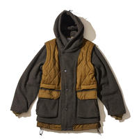 F/CE. LAYER RECYCLE WOOL BLOUSON Beige  [F2002FCMC00005R]