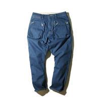 NATAL DESIGN(ネイタルデザイン) G55 Sarouel Flap Denim Pants OLD BLUE [NAT031-O]