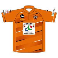 【大人・子ども】FPシャツ(オレンジ)、番号・ネーム無し
