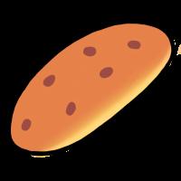 豆パン(手書きイラスト)