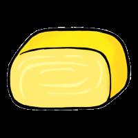 卵焼き(手書きイラスト)