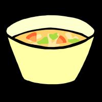 汁物(手書きイラスト)