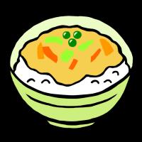 丼物(手書きイラスト)