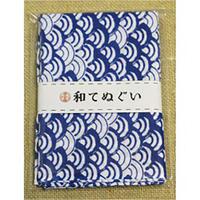 小紋調和手拭 青海波1440-6