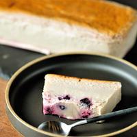 あきら畑の無農薬ブルーベリーチーズケーキ1本