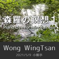 森羅の瞑想1  Piano Live for Mindfulness (2021/5/9 小蕪亭)