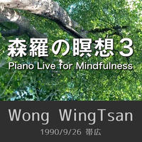 森羅の瞑想3  Piano Live for Mindfulness (1990/9/26 帯広)