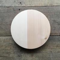 「いちょうの木のまな板」まん丸  直径30センチ wp-01