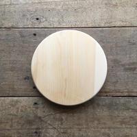 いちょうの木のまな板」まん丸  直径25センチ wp-08