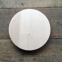「いちょうの木のまな板」まん丸  直径30センチ wp-06
