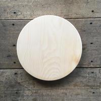 「いちょうの木のまな板」まん丸  直径30センチ wp-08