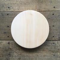 「いちょうの木のまな板」まん丸  直径30センチ wp-09