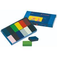 シュトックマー ブロッククレヨン12色紙箱
