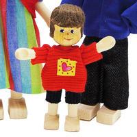 クレーブス人形 【男の子 Tシャツに短パン】