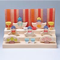 【ひな人形】銀杏円びな三段飾り