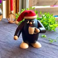 赤い帽子のコーヒー豆くん