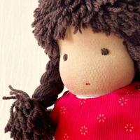 ジルケ人形(小)女の子