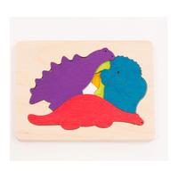 3重パズル  ・恐竜