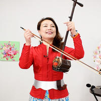 オリジナル二胡立奏ホルダー