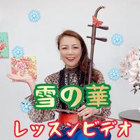 「雪の華」模範演奏・レッスン動画