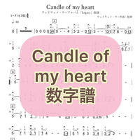 「Candle of my heart」数字譜