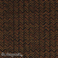 Tissu « Kirikou » Bruns sur noir