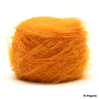 Fil à tricoter Kid Mohair – Orange séchée
