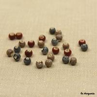 Perle « Coin d'ombre boule »
