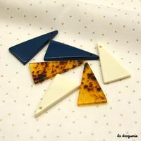 Perle « Graphique glam triangle plein »