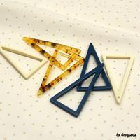 Perle « Graphique glam triangle vide »