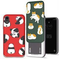 DESIGN SKIN iPhone XR SLIDER GRAPHIC キティキャット