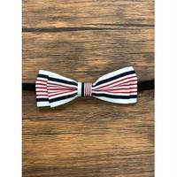 Pet bow tie(ペットボウウタイ) M ホワイト×レッド